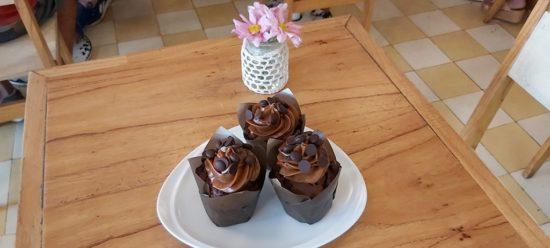 Muffins de chocolate fáciles